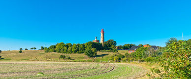 Lighthouse in a country Stock Photography