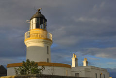 Lighthouse, Cromarty. Cromarty Lighthouse, Cromarty, Scotland, built in 1846 by Alan Stevenson Stock Photography