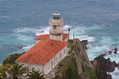 Lighthouse of Cudillero Royalty Free Stock Image