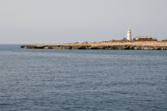 Lighthouse on Cyprus. Some lighthouse on Cyprus island Royalty Free Stock Photo