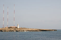 Lighthouse on Cyprus. Some lighthouse on Cyprus island Stock Photography