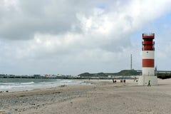 Lighthouse of the Düne, Helgoland Royalty Free Stock Photo