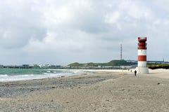 Lighthouse of the Düne, Helgoland Stock Photos