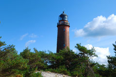 Lighthouse (Darsser Ort) Royalty Free Stock Image