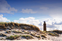 Lighthouse (Darsser Ort) Stock Photos