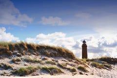 Lighthouse (Darsser Ort) Stock Photos