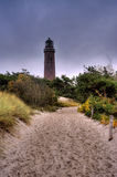 Lighthouse of Darsser Ort in Germany Stock Image