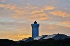 Lighthouse at dawn... Royalty Free Stock Images