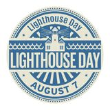 Lighthouse Day, August 7 Stock Photography