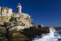 Lighthouse Day Hor Stock Photo