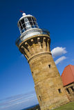 Lighthouse day incline Stock Photo