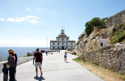 Lighthouse de Finisterre Royalty Free Stock Photo
