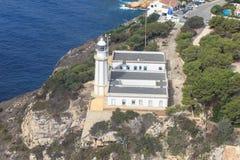 Lighthouse de la Nau in Javea, Alicante, Spain Stock Images