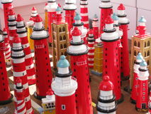 Lighthouse Decorations Royalty Free Stock Photography