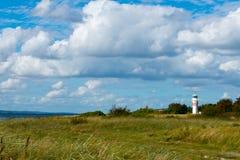 Lighthouse in denmark. Lighthouse on Årø island, denmark Stock Photos