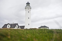 Lighthouse in Denmark Stock Photography