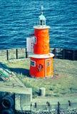 Lighthouse in Denmark stock photos