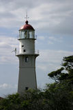 Lighthouse at Diamond Head. Light House at Diamond Head Crater on Oahu, Hawaii Stock Photography