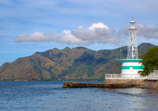 A lighthouse in Dili Stock Image