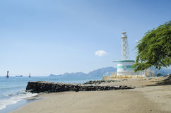 Lighthouse in dili east timor Stock Photos