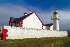The lighthouse in Dingle Stock Photos