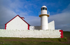 The lighthouse of Dingle Stock Images