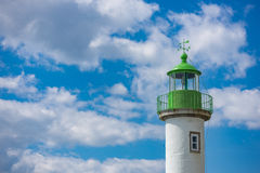 Lighthouse of Doelan near Clohars-Carnoet, Brittany Stock Photography