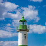 Lighthouse of Doelan near Clohars-Carnoet, Brittany Royalty Free Stock Photos