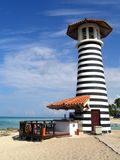 Lighthouse DomRep. Lighthouse in the Domenican Republic Royalty Free Stock Photo