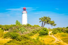 Free Lighthouse Dornbusch On The Island Hiddensee, Ostsee, Germany Stock Photography - 169772292