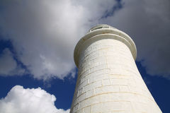 Lighthouse Dover England. Lighthouse situated at the end of a pier in Dover, Kent, UK Royalty Free Stock Photos