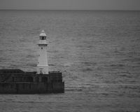Lighthouse. In Dover UK,seaside Royalty Free Stock Image