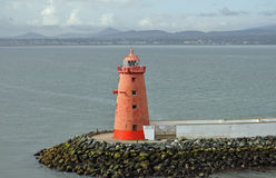 Lighthouse in Dublin, Ireland Stock Image
