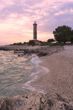 Lighthouse at Dugi Otok island,croatia royalty free stock images