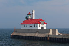 Lighthouse at Duluth, Minnesota Royalty Free Stock Photo