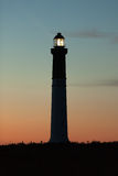Lighthouse at dusk Royalty Free Stock Photo