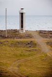 Lighthouse in East Iceland Stock Image