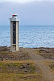 Lighthouse in East Iceland Stock Photography