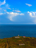 Lighthouse on the edge of the earth. Stock Images