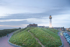 Lighthouse Egmond. Lighthouse in Egmond royalty free stock image