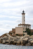 Lighthouse at Eivissa, Ibiza Stock Image