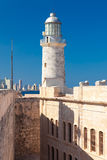 The lighthouse of El Morro in Havana Stock Photo