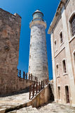 The lighthouse of El Morro in Havana, Cuba Stock Photo