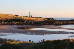 The Lighthouse at Elie. Stock Image