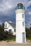 Lighthouse in Empire Royalty Free Stock Images