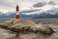 Lighthouse in the End of the World Stock Photography