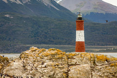 Lighthouse in the End of the World Royalty Free Stock Photography