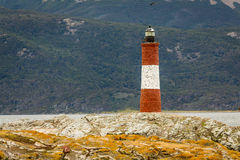 Lighthouse in the End of the World Royalty Free Stock Photo
