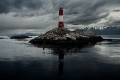 Lighthouse at the end of the World Royalty Free Stock Image