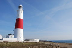 Lighthouse in England Royalty Free Stock Photo